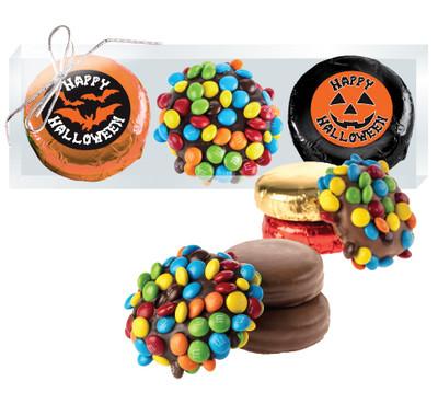 Halloween M&M & Chocolate Oreo Trio