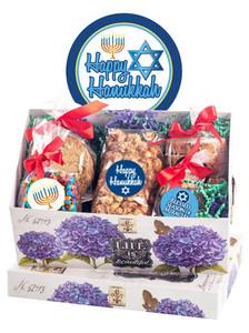 Hanukkah Keepsake Box of Gourmet Treats