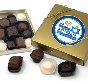Hanukkah Chocolate Candy Box