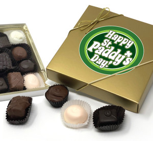St Patrick's Day Chocolate Candy Box