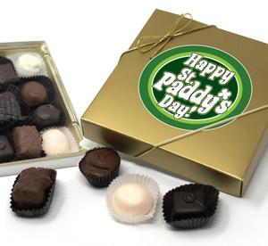 St Patrick's Day Chocolate Candy Box