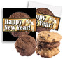 Happy New Year Cookie Scone Singles