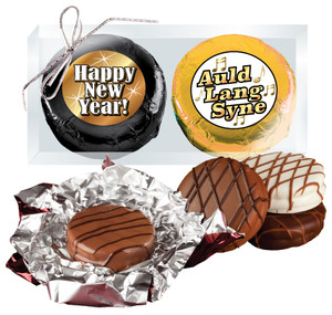 Happy New Year Cookie Talk Chocolate Oreo Duo