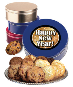HAPPY NEW YEAR  MAKE-YOUR-OWN COOKIE TIN