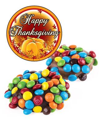 Thanksgiving Mini M&M Chocolate Oreo
