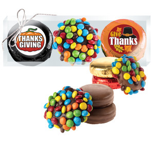 Thanksgiving M&M Chocolate Oreo Trio