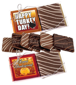 "Thanksgiving ""Cookie Talk"" Chocolate Graham Duo"