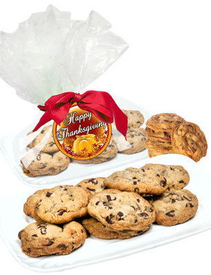 Thanksgiving Butter Chocolate Chip Cookies