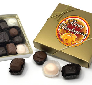 Thanksgiving Chocolate Candy Box
