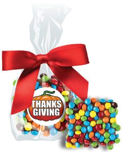 Thanksgiving Mini M&M Chocolate Graham Bag