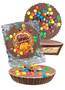 Thanksgiving Mini Peanut Butter Candy Pie - M&M