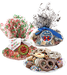 CHRISTMAS/ HOLIDAY COOKIE ASSORTMENT SUPREME - Cookies, Pretzel & Candy