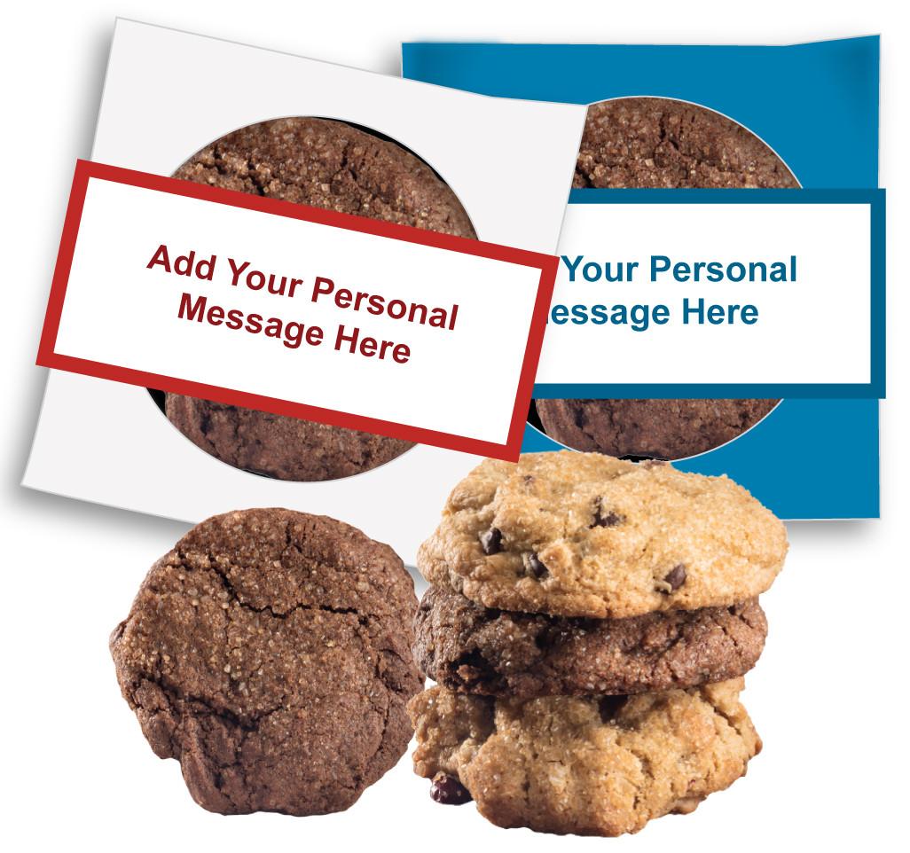 Christmas Holiday Custom Message Cookie Scone Singles