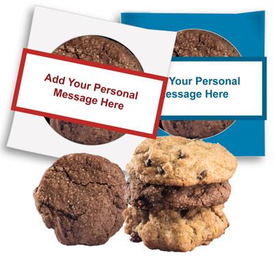 Christmas/Holiday Custom Message Cookie Scone Singles