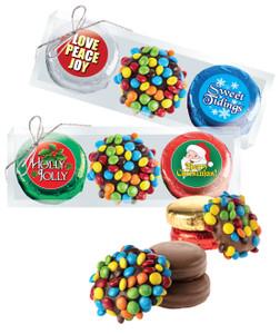 Christmas/Holiday M&M Chocolate Oreo Trio