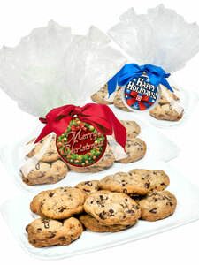 Christmas/Holiday Chocolate Chip Butter Cookies