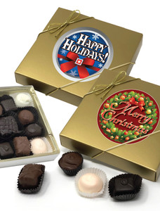 Christmas/Holiday Chocolate Candy Box