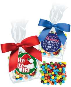 Christmas/Holiday Chocolate Grahams with Mini M&Ms