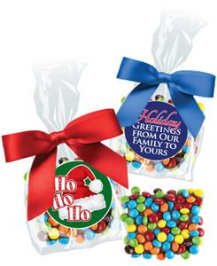 Christmas/Holiday Chocolate Grahams with Mini M&Ms