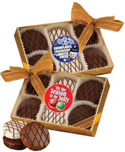 CHRISTMAS/HOLIDAY CHOCOLATE DRIZZLED OREO 6 Pk