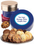 Valentine's Day Make-Your-Own Cookie Tin - Blue