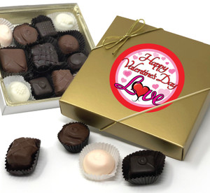 Valentine's Day Chocolate Candy Box - Love