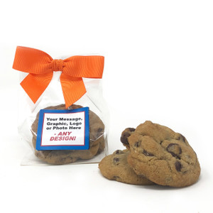 Custom Favor Bags - Chocolate Chip Cookies