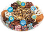 Baby Boy Caramel Popcorn & Cookie Assortment Platter
