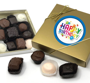 Birthday Chocolate Candy Box
