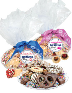 BAR/BAT MITZVAH COOKIE ASSORTMENT SUPREME - Cookies, Pretzel & Candy