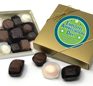 EMPLOYEE APPRECIATION CHOCOLATE CANDY BOX