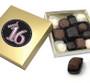 Sweet 16 Chocolate Candy Box - Black & Pink