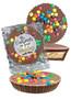 Wedding Peanut Butter Candy Pie - M&M