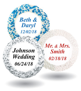 Wedding Custom Print Chocolate Oreo