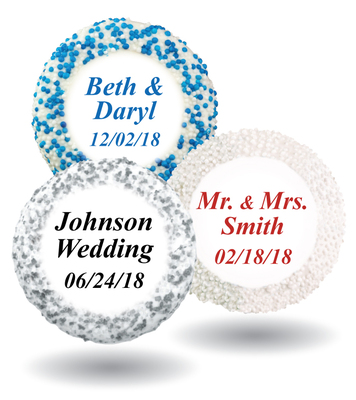 Wedding Custom Print Chocolate Oreo