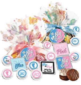 "Gender Reveal ""Cookie Talk""  Message Platters"