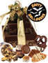 Halloween Tower Of Treats - Brown and Gold