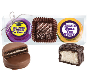 "Back-To-School ""Cookie Talk"" Chocolate Oreo & Marshmallow Trio"