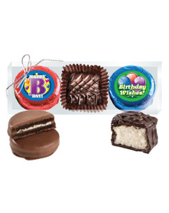 Birthday Cookie Talk Chocolate Oreo & Marshmallow Trio