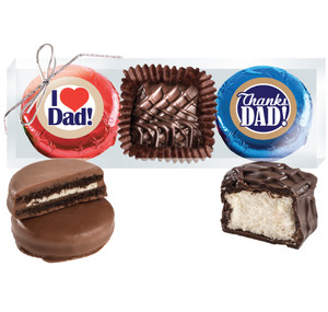 "Fathers Day ""Cookie Talk"" Chocolate Oreo & Marshmallow Trio"