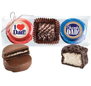 Father's Day Cookie Talk Chocolate Oreo & Marshmallow Trio