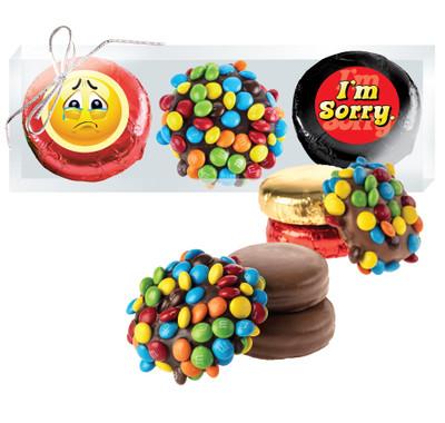 I'm Sorry Cookie Talk Chocolate Oreo & Marshmallow Trio