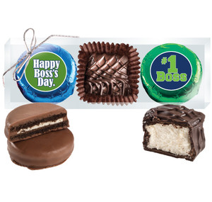 Best Boss Cookie Talk Chocolate Oreo & Marshmallow Trio