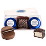 Custom Cookie Talk Chocolate Oreo & Marshmallow Trio - Blue Foils