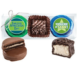 "Employee Appreciation  ""Cookie Talk"" Chocolate Oreo & Marshmallow Trio"