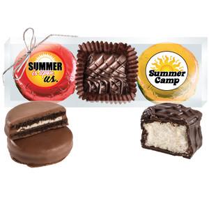 "Summer Camp ""Cookie Talk"" Chocolate Oreo & Marshmallow Trio"