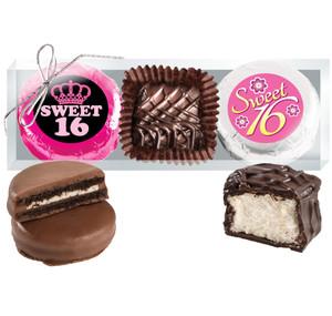 Sweet 16 Cookie Talk Chocolate Oreo & Marshmallow Trio