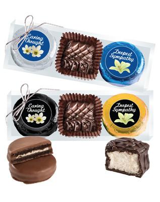 Sympathy/Shiva Cookie Talk Chocolate Oreo & Marshmallow Trio