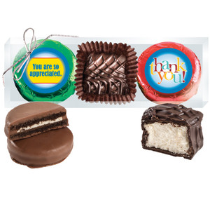 Thank You Cookie Talk Chocolate Oreo & Marshmallow Trio