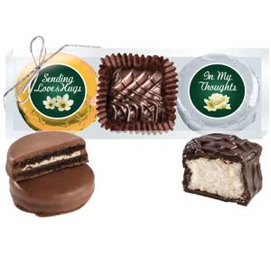 """Thinking Of You """"Cookie Talk"""" Chocolate Oreo & Marshmallow Trio"""